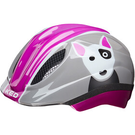 KED Meggy Trend Bike Helmet Children grey/pink